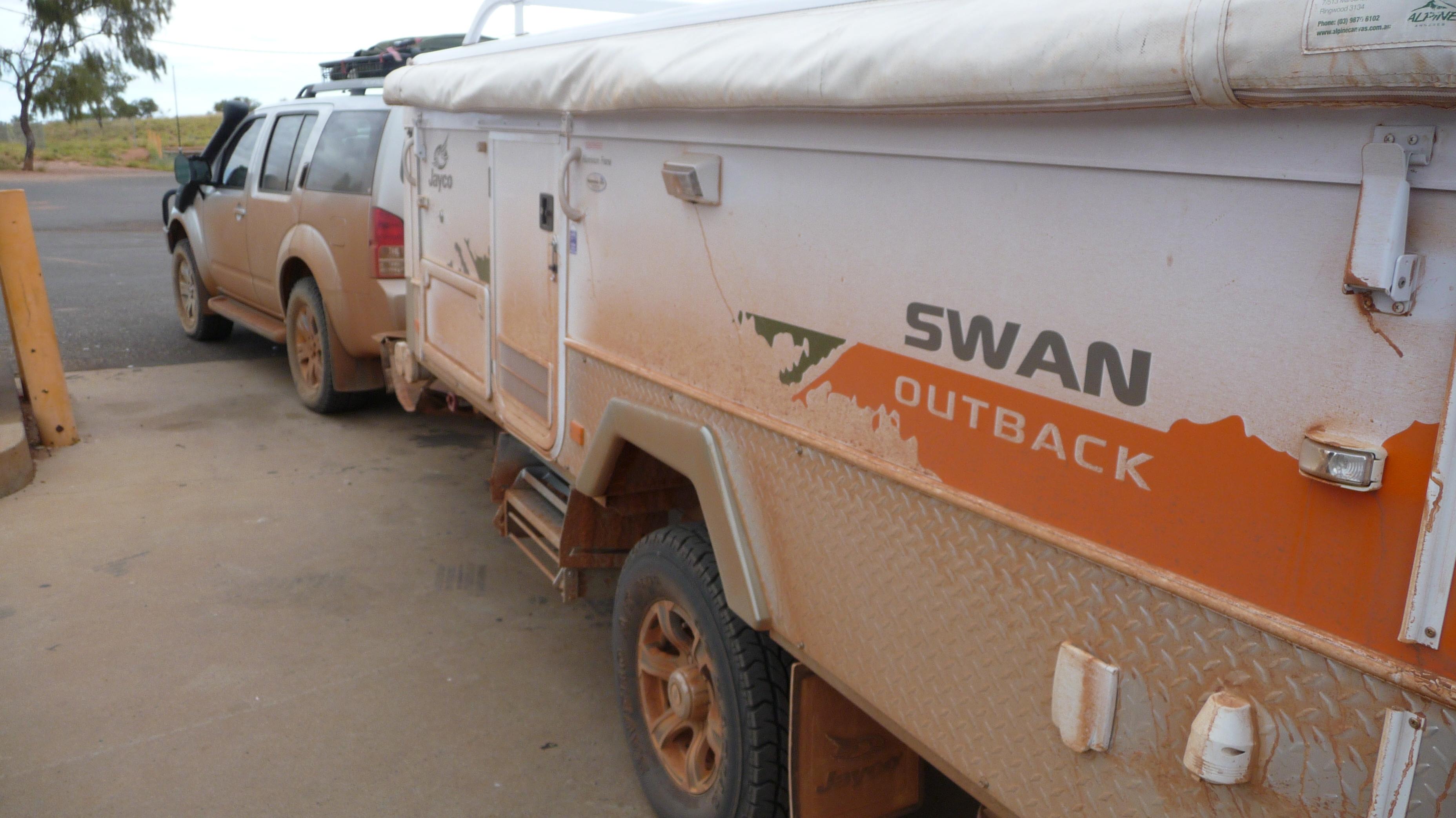 Model Jayco Swan Outback  Travel Around Australia