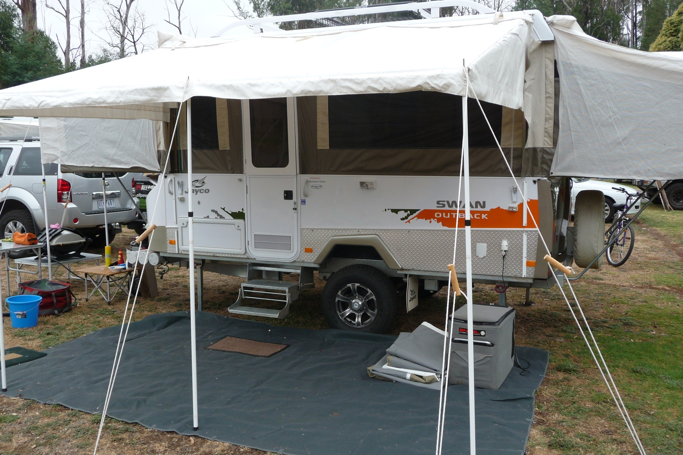 Jayco Swan Outback Travel Around Australia