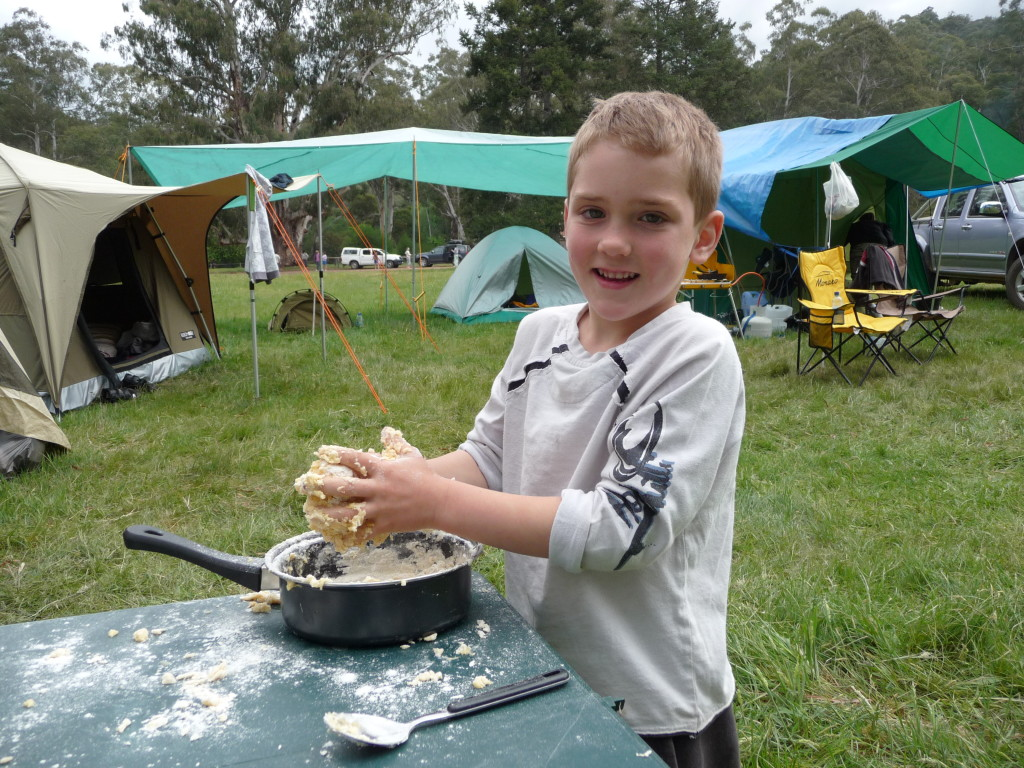 Lachy cooking damper a few years ago