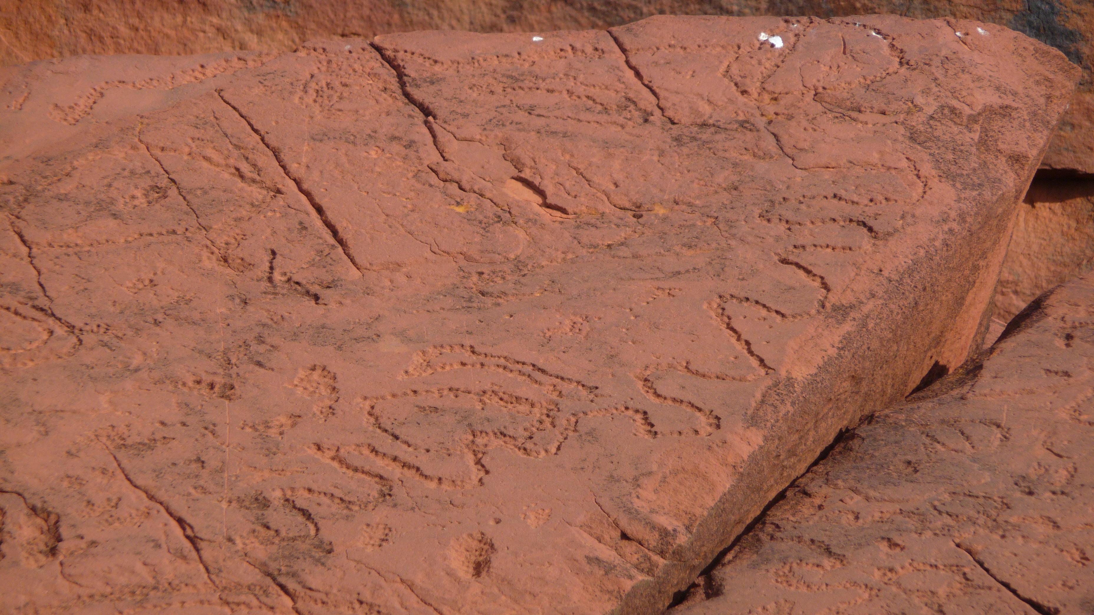 Ewaninga rock carvings travel around australia