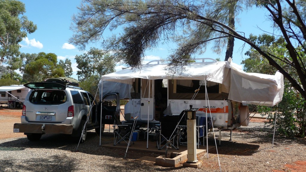 Jayco camped at Ayers Rock Campground