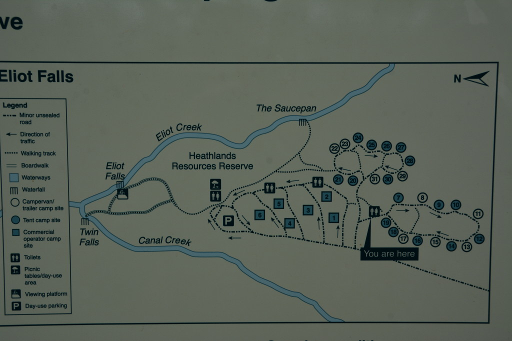 eliot campground  map