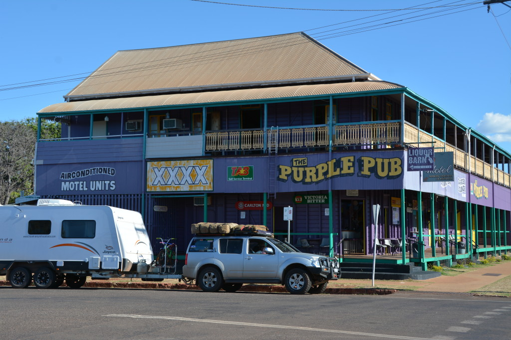 Normanton purple pub