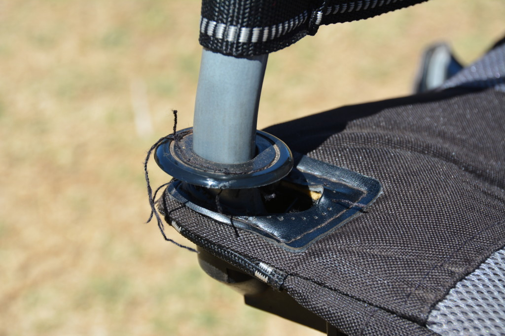 oztent king kokoda chair stitching issue
