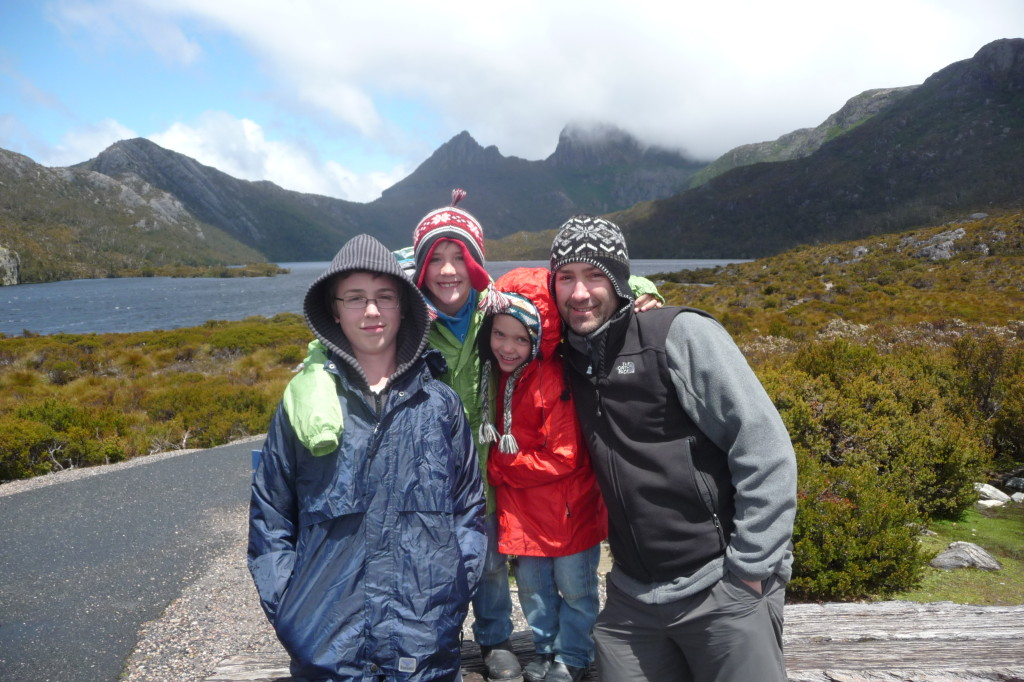 Warm clothing required when travelling in Tasmania
