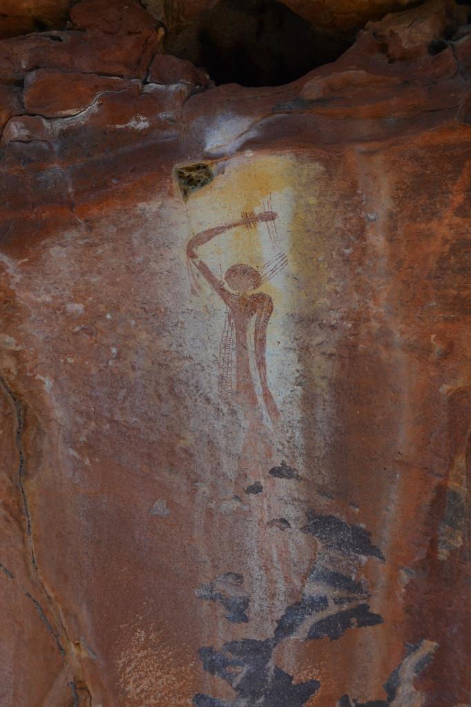 bradshaw rock art_mt elizabeth_kimberley