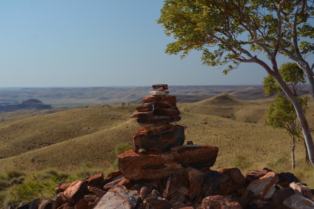 rock cairn_millstream NP_pilbara