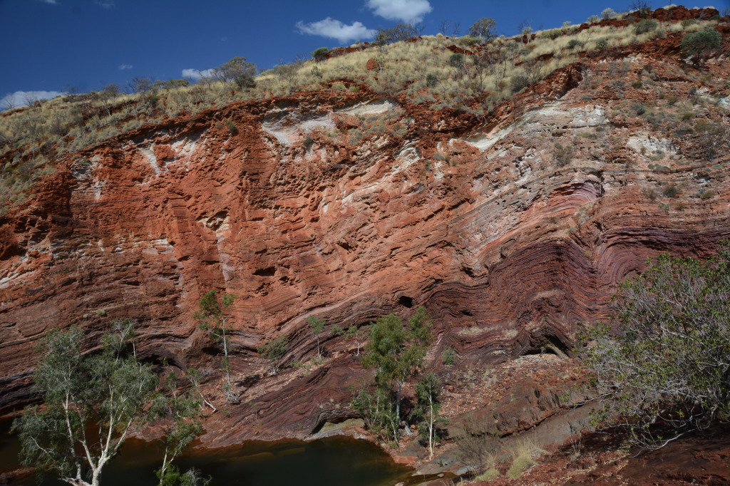 rock formation_hammersley gorge_pilbara