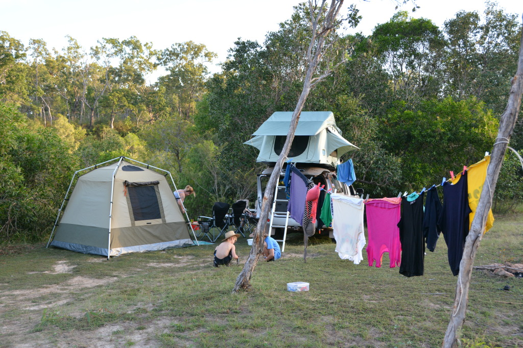 Camping, Cape York
