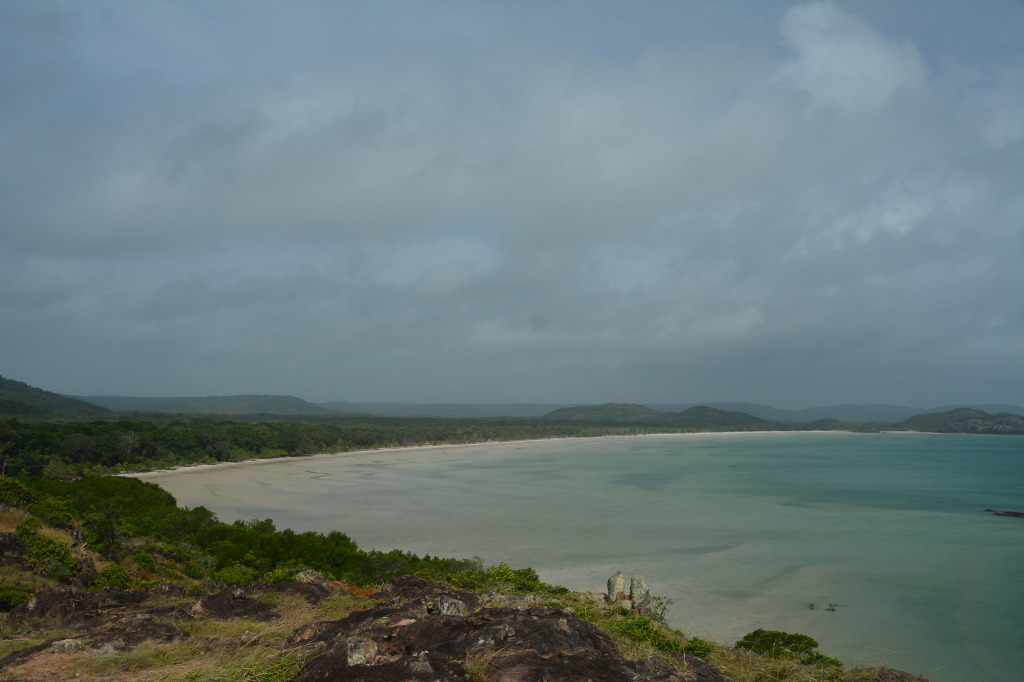 View from the tip of Australia, Cape York
